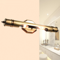 European style copper wall lamp oil painting lamp bedroom wall lamp headlight study aisle lights bathroom LED mirror headlight