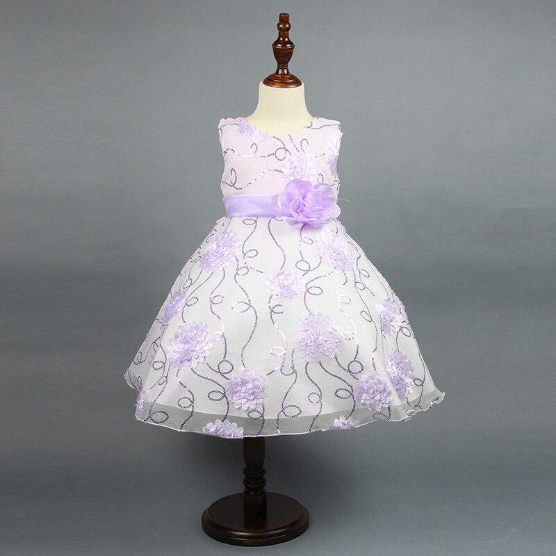 ФОТО Girl Party Dress Princess Dress High Quality Embroidery Lace Flower Girl Dresses Children Clothing Girl Wedding Dress