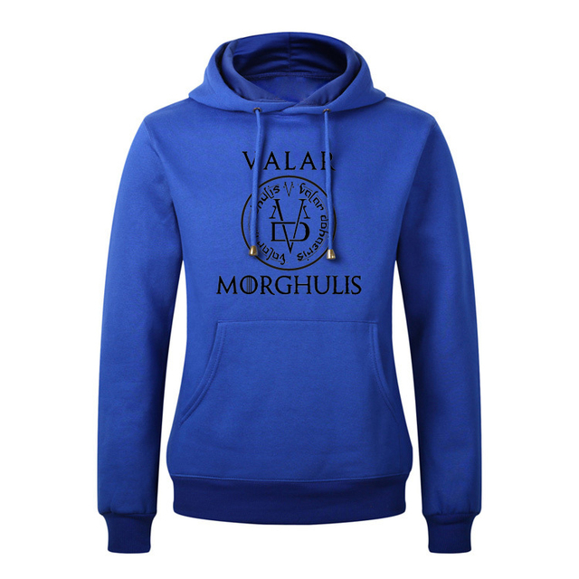 Cotton Spandex Game of Thrones Hoodies