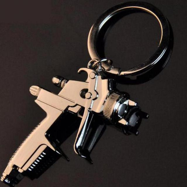 New Hot Water Spray Gun Quality Business Zinc Alloy Keychain Fashion Handbags Ac