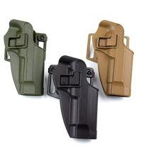 Military Combat Gun Holster Belt Case Tactical Right Hand For Beretta 92 96 M9 Airsoft Pistol Hunting Equipment