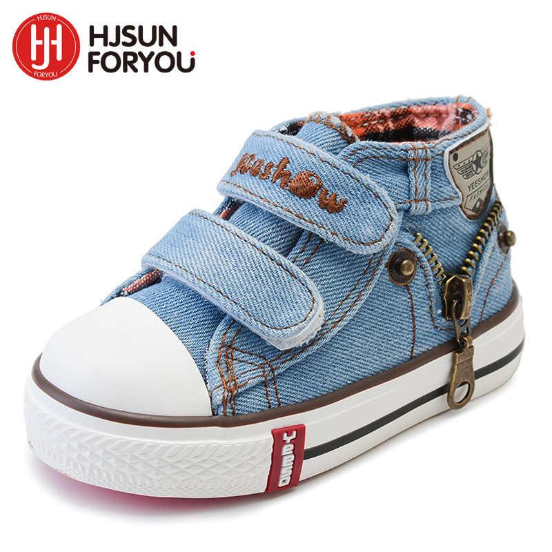 สไตล์ใหม่เด็กหญิงและชายรองเท้าแฟชั่นรองเท้าเด็กรองเท้าผ้าใบเด็กรองเท้าสบายๆขนาด 19 -24