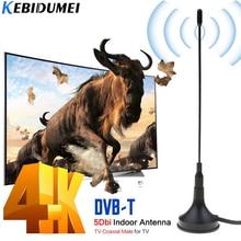 kebidumei DVB-T TV Antenna Freeview HDTV 30DB Indoor Digital Antenna Aerial Booster For DVB-T Antena TV HDTV Box Cable