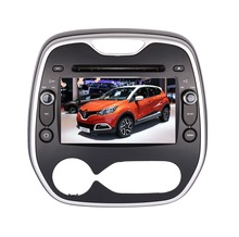 NEW Wholesale! 2Din 8inch Car DVD PLAYER head unit stereo radio Screen Fit Captur CLIO/Samsung QM3 2011-3G GPS MAP BT FM RDS DVD