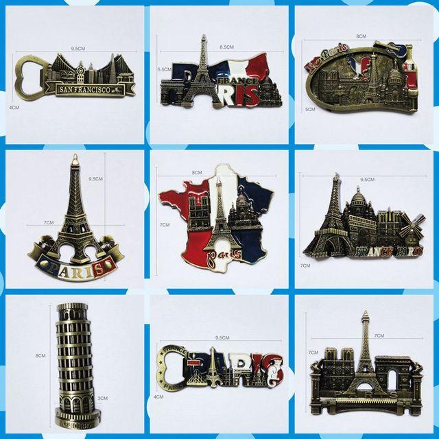 Freeshipping France Paris Eiffel Tower Figures toys 9 styles ...