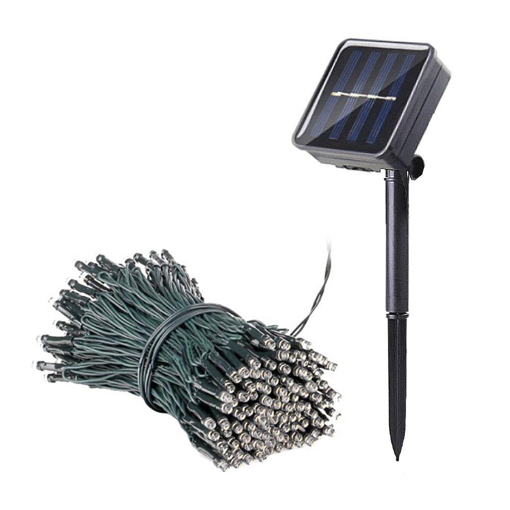 100 LED Solar String Light Outdoor Waterproof Fairy Solar Lights For Garden Decoration Christmas Solar Powered Lamp Strip 200LED (16)