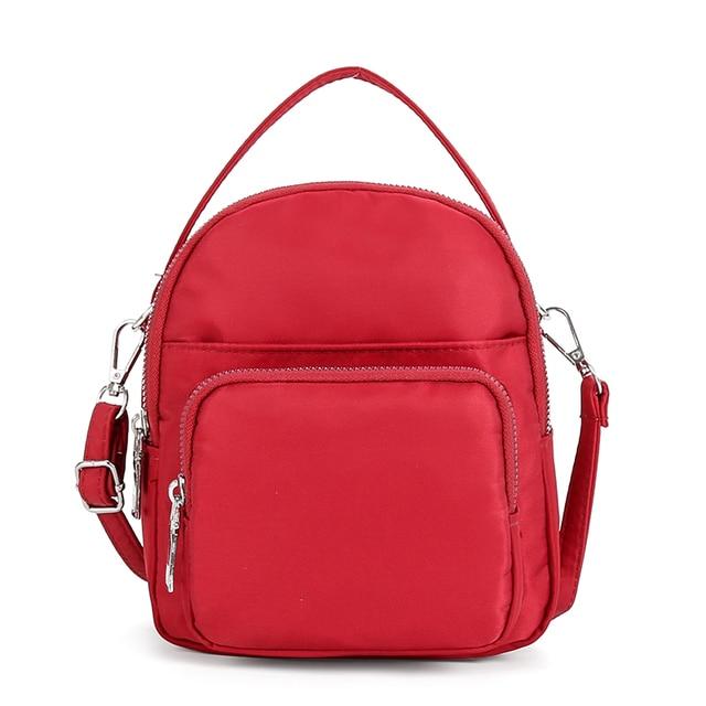 High quality Women Clutch Handbags Nylon ladies Small Messenger Bag Sling  Shoulder Bags Female Phone Crossbody cbaccbd5873ee