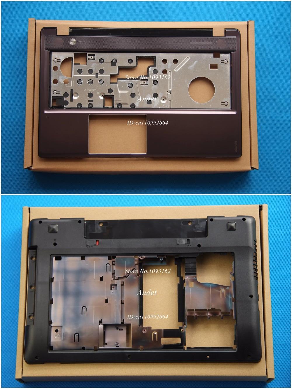 New Original For Lenovo IdeaPad Z580 Z585 Back Cover Base Shell Bottom Case Black Color 3ALZ3BALV00 &Palmrest Keyboar CoverNew Original For Lenovo IdeaPad Z580 Z585 Back Cover Base Shell Bottom Case Black Color 3ALZ3BALV00 &Palmrest Keyboar Cover