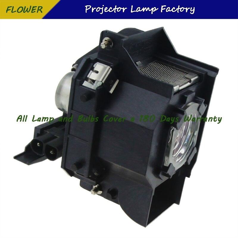 עופרות ELPLP34 V13H010L34 מותג חדש מקרן Bare מנורה עם דיור ForEPSON EMP-62 / EMP-62C / EMP-63 / EMP-76C / EMP-82 / EMP-X3 (5)