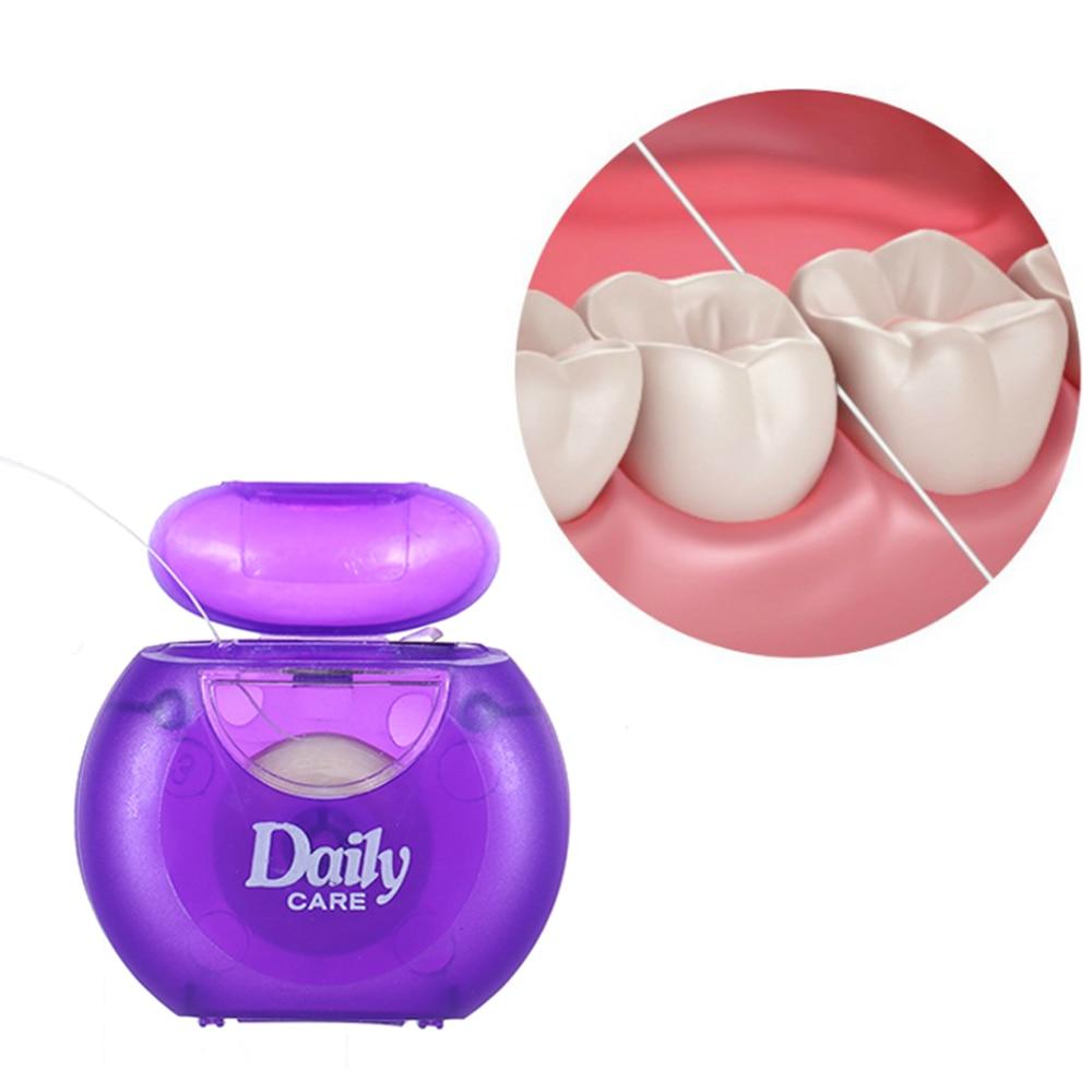 Aufstrebend 1 Stücke 25 Mt Zahnseide Oral Hygiene Kit Zähne Mundpflege Zahn Sauber Fio Dental Dentes Oral Dental Zahnseide Mundhygiene