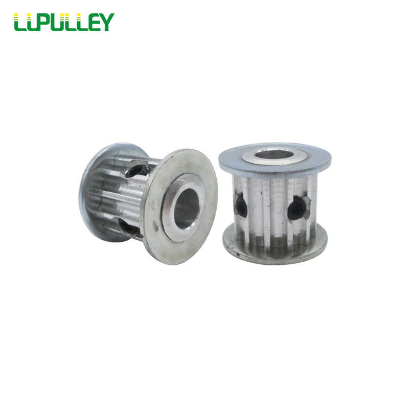 Poulie de distribution lupoulie 1 pc HTD 5 M 12 T 12 dents 16mm/21mm largeur de courroie alésage 5mm/6mm/6.35mm/8mm/10mm HTD5M poulies de roue dentée AF