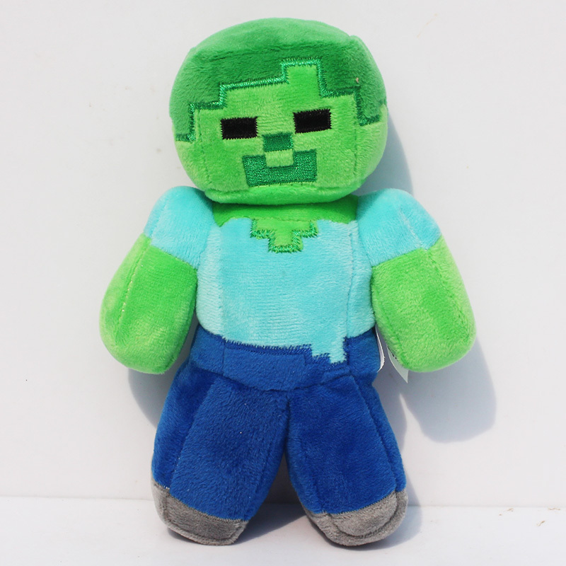 <font><b>Minecraft</b></font> Anime <font><b>Figure</b></font> Toys 18cm <font><b>Minecraft</b></font> Steve <font><b>Creeper</b></font> Enderman Ocelot <font><b>Action</b></font> <font><b>Figures</b></font> <font><b>Minecraft</b></font> Toys Children Kids xmas Gift