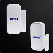 English Russian Kerui Wireless GSM Home Security Alarm System ISO Android APP Security Alarm System Wireless Smoke Detector