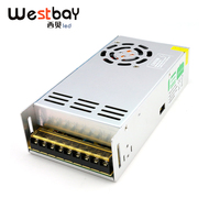 Best quality 24V 14.6A 350W Switching Power Supply Driver for LED Strip,Neon lights, AC 170 260V or 90 110V Input to DC 24V