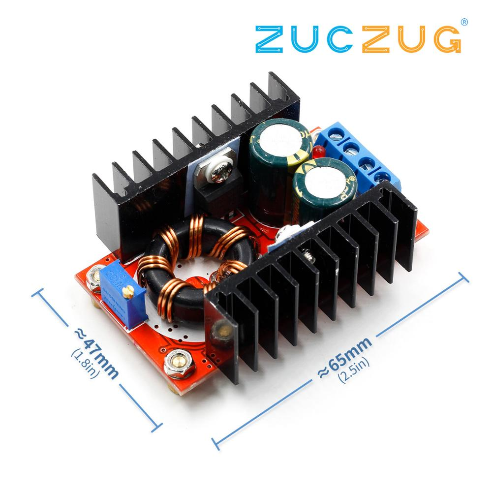 <font><b>150W</b></font> Boost Converter <font><b>DC</b></font> to <font><b>DC</b></font> 10-32V to 12-35V <font><b>Step</b></font> <font><b>Up</b></font> Voltage Charger Module image