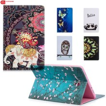 Case For Samsung Galaxy Tab S4 10.5 T830 T835 SM-T830 Card Pu Leather Cartoon Stand Cover for inch