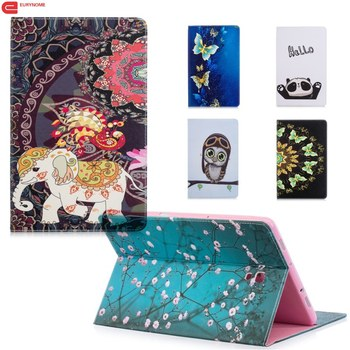 Case For Samsung Galaxy Tab S4 10.5 T830 T835 SM-T830 Card Pu Leather Cartoon Stand Case Cover for Samsung Tab S4 T830 10.5 inch цена 2017