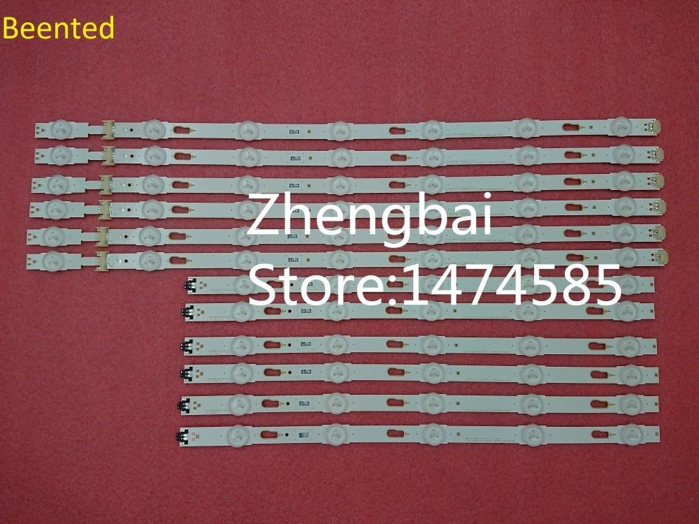 New Kit 12pcs LED backlight strip for UE49KU6300 S KU6 3K 49 FL30 R5 L7