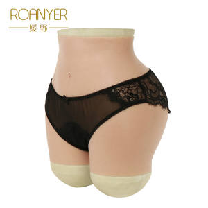 Roanyer Crossdressing hip enhancer silicone Panties Drag Queen Shemale crossdresser Transgender vagina buttocks Soft Underwear