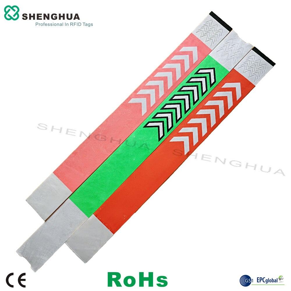 200pcs Low Cost EPC CLASS1 GEN2 Customization Available Bracelets RFID Tags RFID Passive Aline H3 Label
