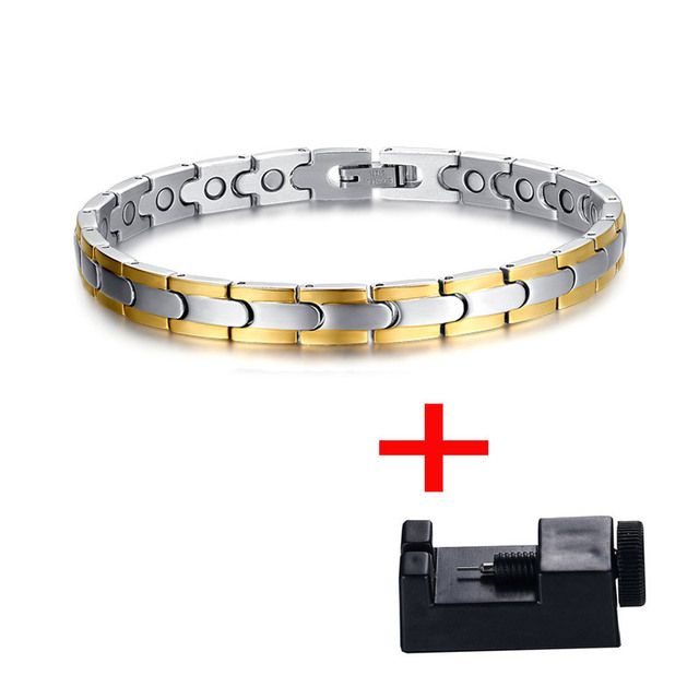 Vnox Health Bracelet Bangle...