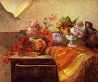 High quality Oil painting Canvas Reproductions Pots and Boquets (1886) by Paul Gauguin hand painted