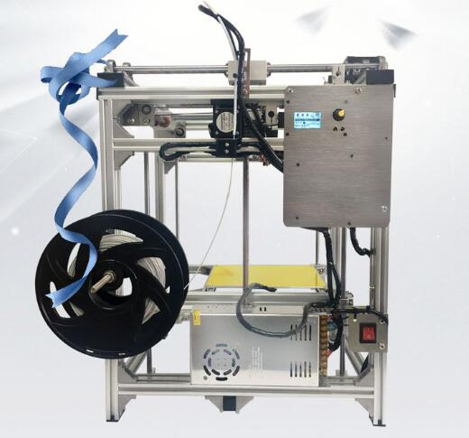 Haute précision industrielle 3D imprimantes laser CNC machine de gravure ultimaker + sculpture PCB grande taille 300*300