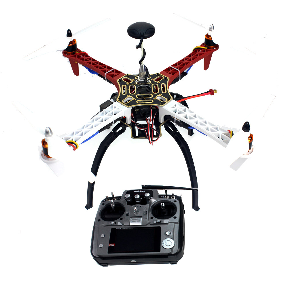 Aircraft RC Quadrocopter Helicopter ARF F450-V2 Frame GPS APM2.8 AT10 TX/RX No Battery F02192-T new original 516 363 s4 c warranty for two year