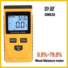 RZ EMT01 Индуктивный для дерева гидрометр для измерения влажности цифровой электрический тестер температуры окружающей среды измерительный инструмент GM630