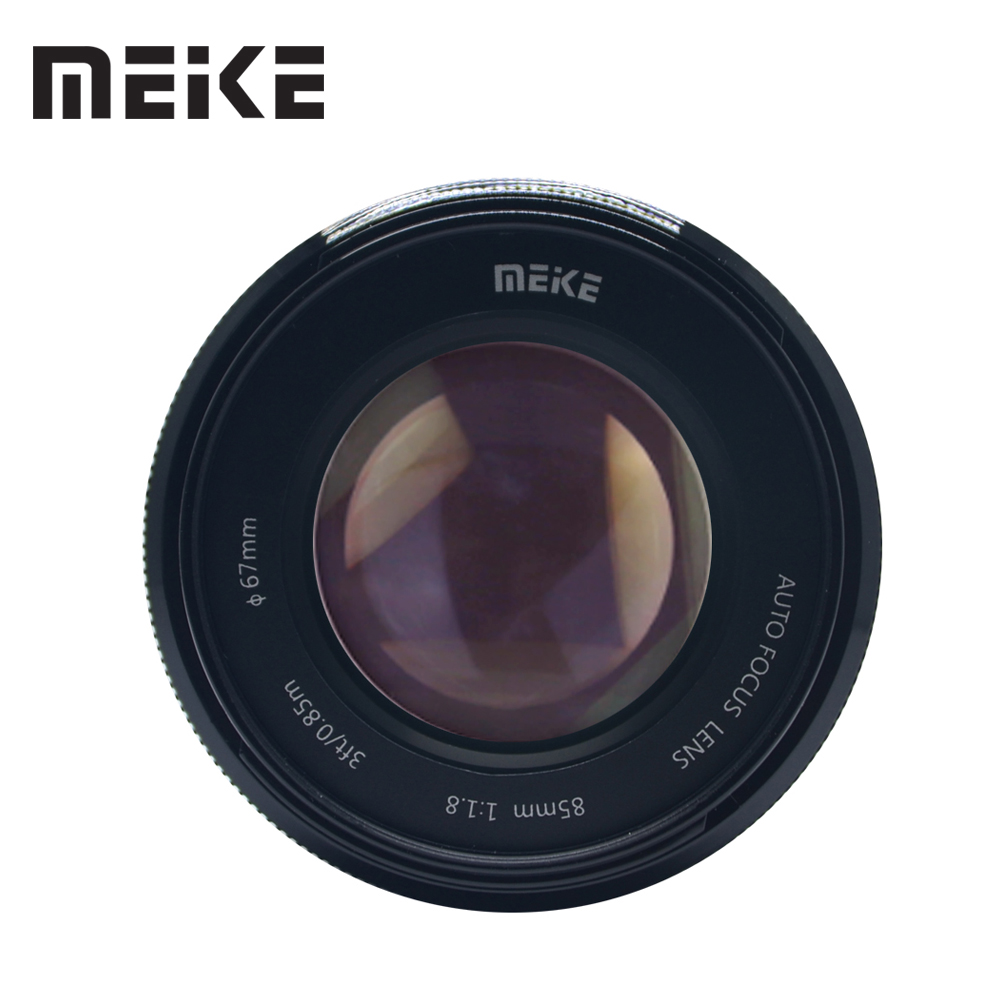 Meike 85mm F/1.8 Auto Focus Medium Telephoto Portrait Prime Lens for Canon EOS EF Mount 60D 70D1300D 600D DSLR Camera Full Frame canon eos 6d 20 2mp full frame dslr camera body ef 24 105mm f4 l is lens kit