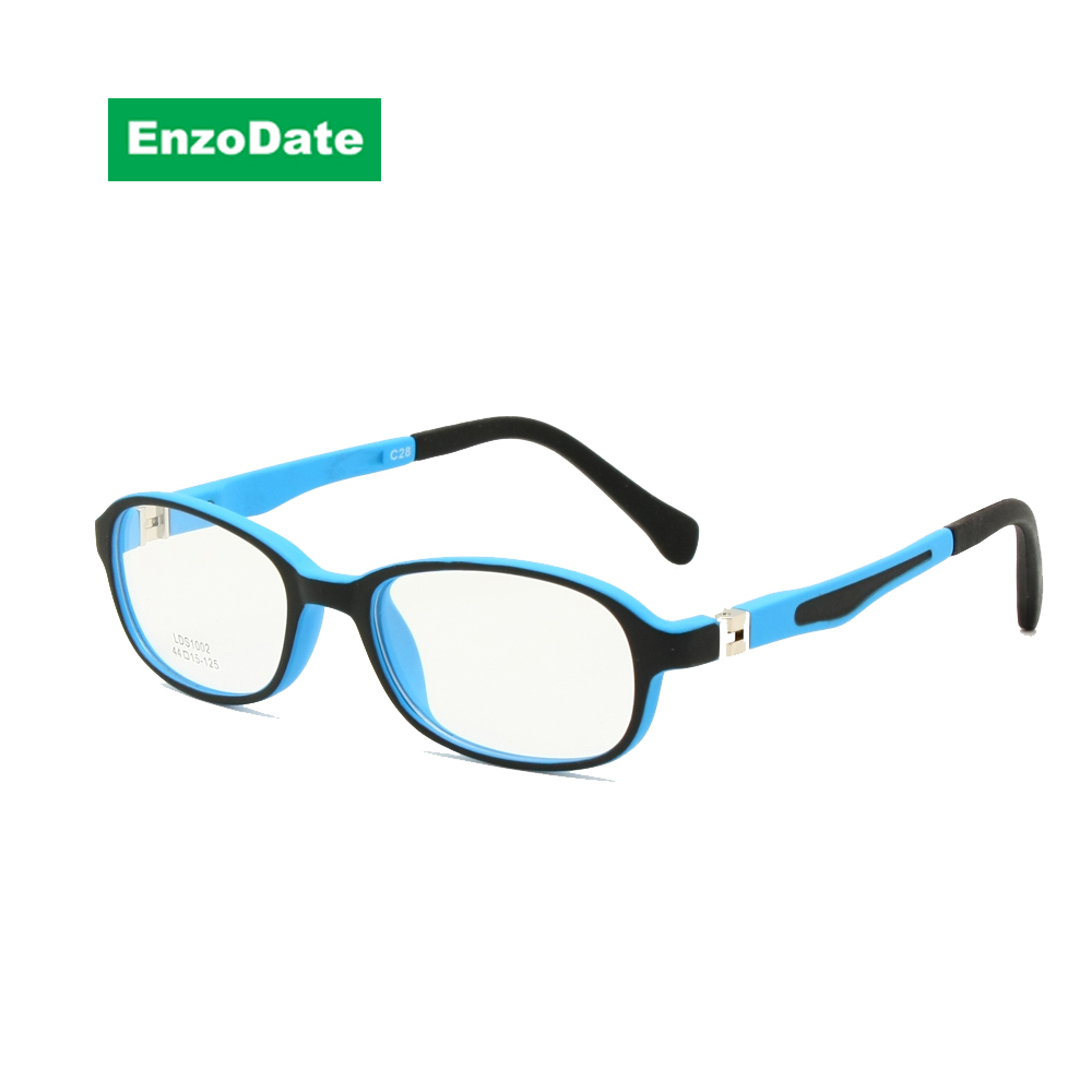 98fc797c98 Children Glasses Frame TR90 Size 44-15 Safe Bendable with Spring Hinge  Flexible Optical Boys Girls Kids Eyeglasses Clear Lenses