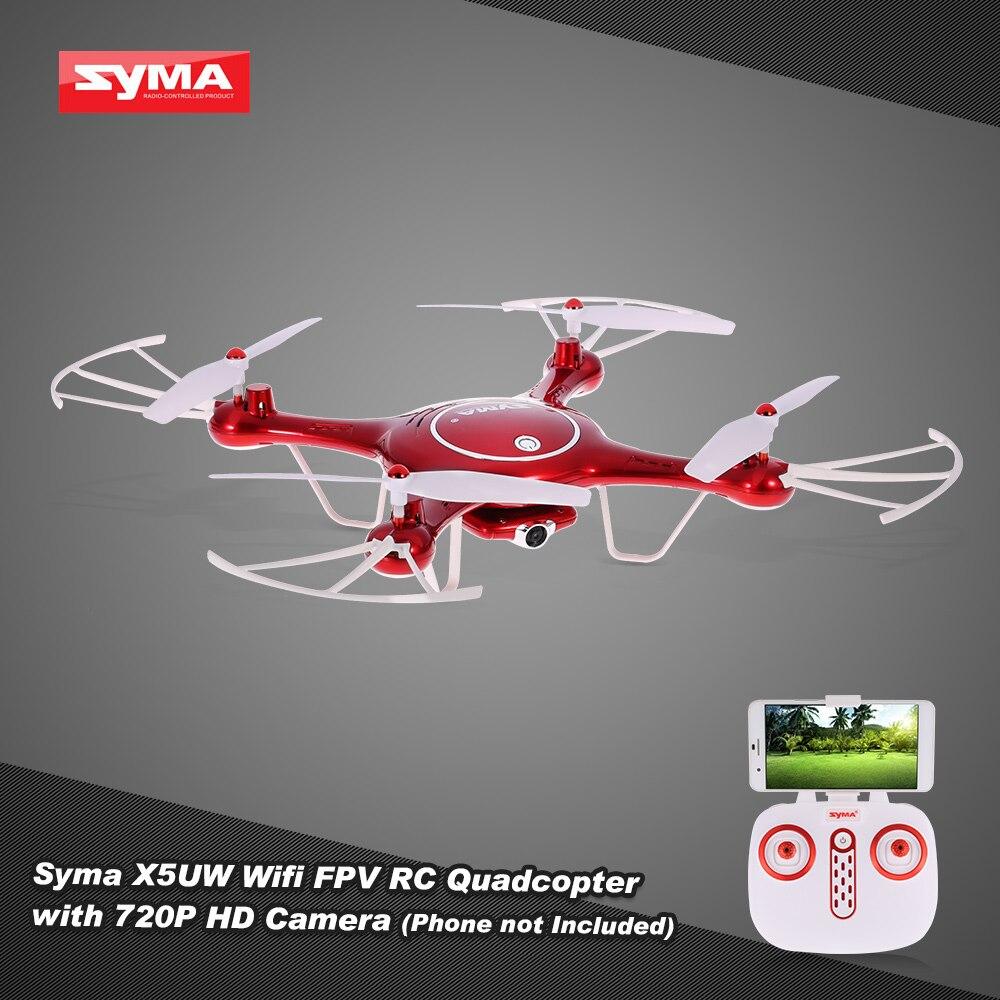 ორიგინალური Syma X5UW Wifi FPV Quadcopter RC - დისტანციური მართვის სათამაშოები - ფოტო 2