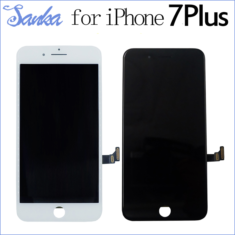 SANKA LCD Display For iPhone 7Plus LCD Screen Touch Digitizer Frame Assembly Repalcement Mobile Phone Parts