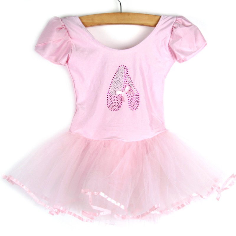 Girls Kids Baby Dance Dress Candy Color Tutu Dress Dance Costumes Ballet Dancewear 3-7Y Baby Clothes YRD