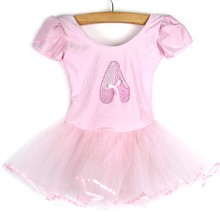 Girls Kids Baby Dance Dress Candy Color Tutu Dress Dance Cos
