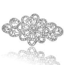 3,8 дюймов горный хрусталь кристалл Диаманте большие броши невесты ювелирные аксессуары