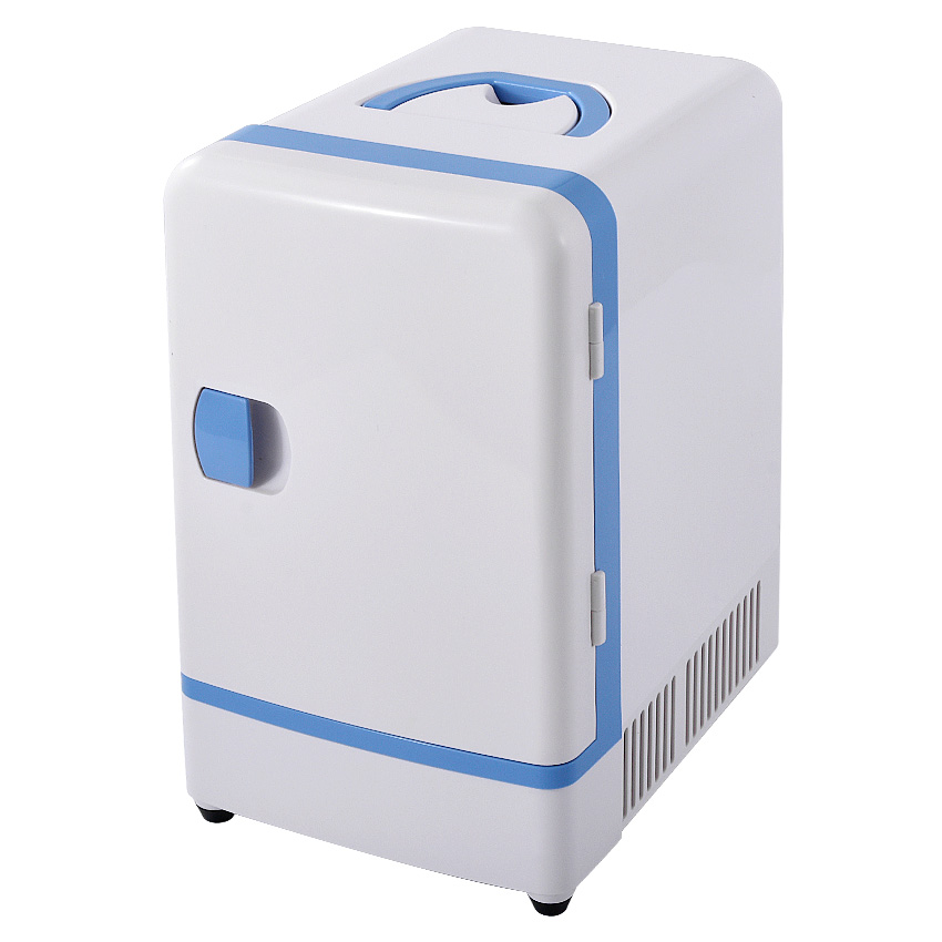 Double Use 12 V 7L Mini Fridge Portable Car Multi-Function Warmer Travel Home Camping Cooler Car Fridge 36-48W Refrigerators