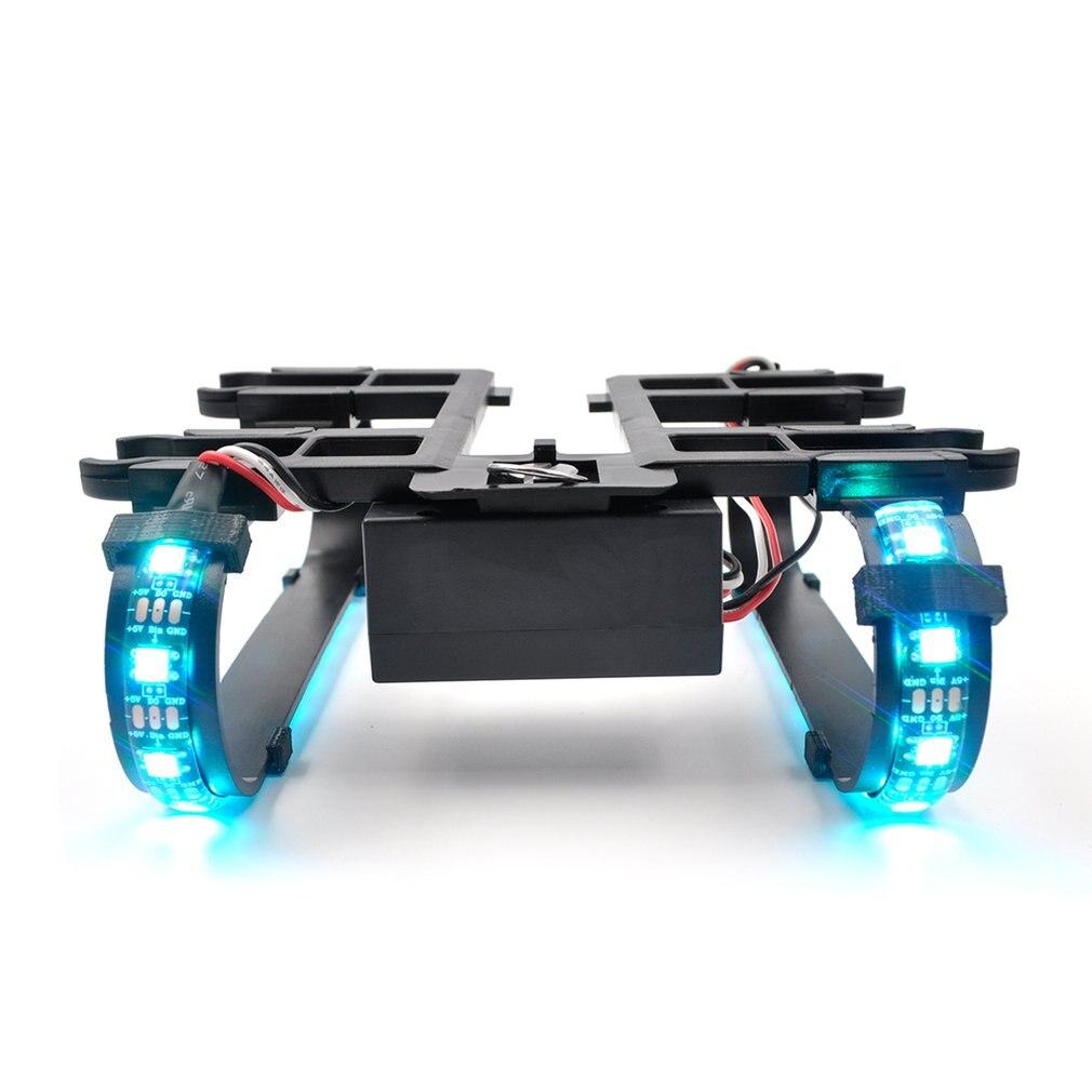 Pour Dji Mavic Pro coloré Led longue batterie de train d'atterrissage intégré 800 Mah pour Dji Mavic Pro accessoires de Drone platine
