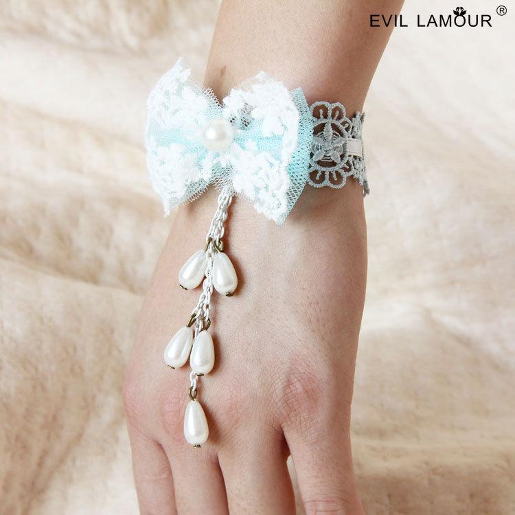 Summer Style Mesh Lace Bangles Bracelets For Women Party Jewelry
