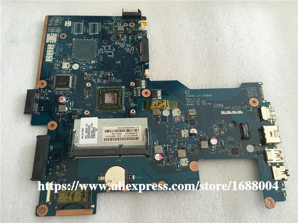 764001-601 764001-501 764001-001 HP 15-G 255 G3 Laptop Motherboard A4 LA-A996P