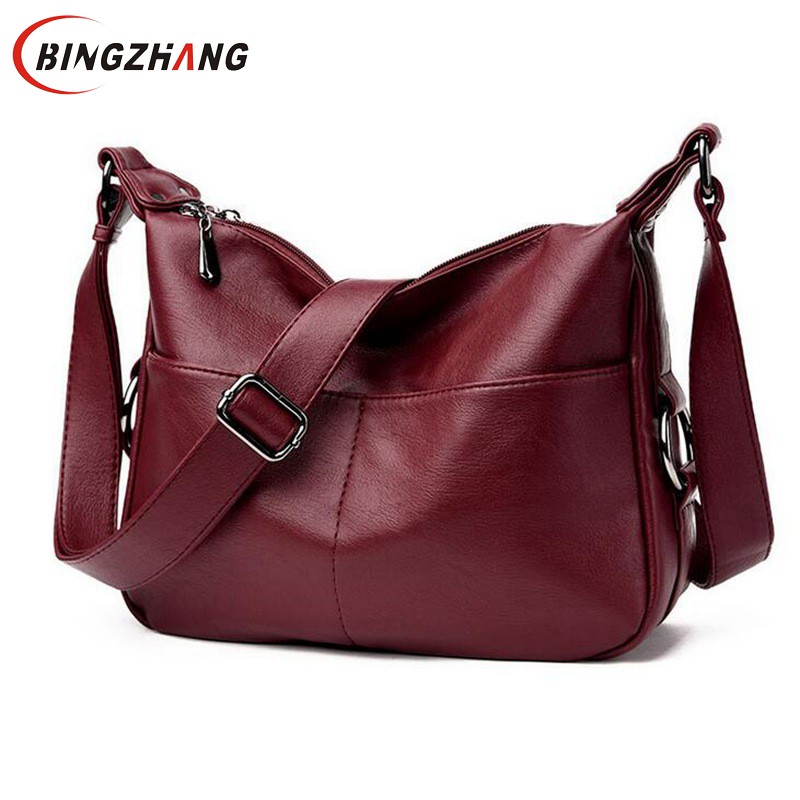 New Fashion Joker Women Single Shoulder Bag Luxury Brand PU Leather Lady Bag European American Female Bag Crossbody Pack L4-3121