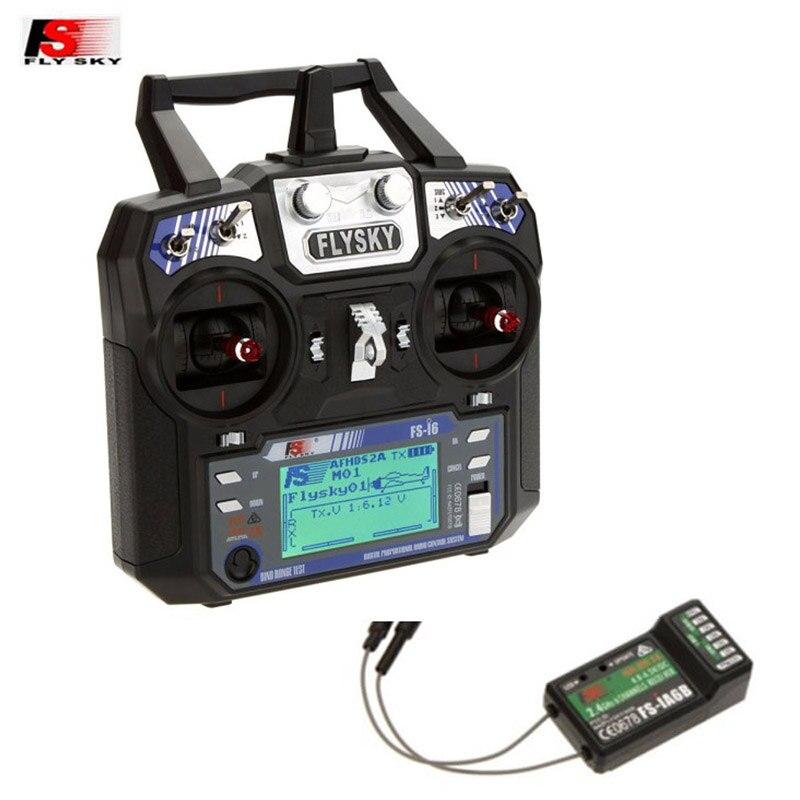 FlySky FS-i6 FS i6 2,4G 6CH AFHDS RC передатчик FS-iA6B iA6 A8S 8CH приемник для RC Quadcopter автомобилей вертолет пульт дистанционного управления