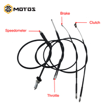 ZS MOTOS Ural CJ-K750 Retro Motorcycle Speedometer Brake Throttle Clutch Cable used at Ural M72 case For BMW R1 R12 R 71 zs motos head motor ural original suit 2pcs pure cj k750 copper parts gaskets bavarian cylinder m1 m72 r71 motorcycle cj k750