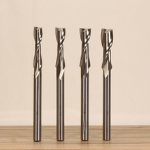 цены NEW SET of 4PCS, 14mm, 16mm, 18mm, and 20mm Upcut Spiral Router Bit, 1/2
