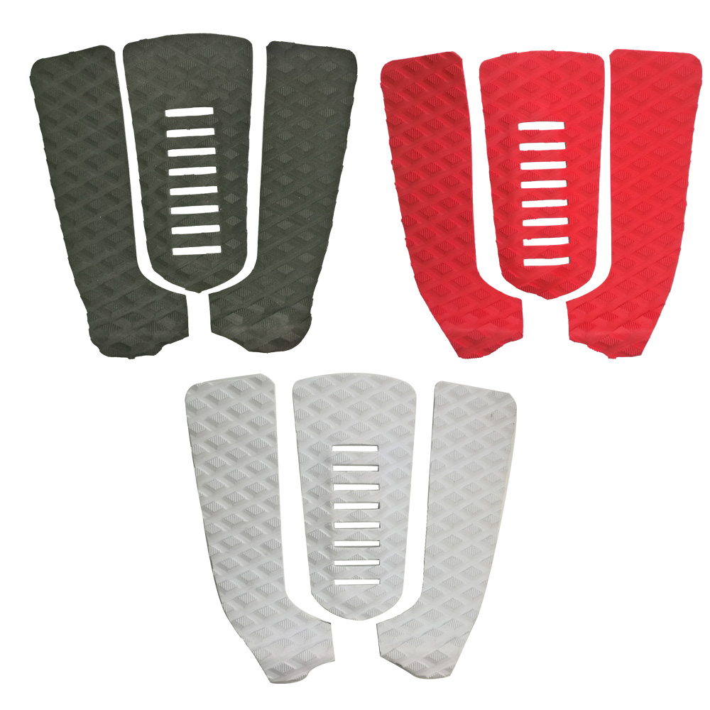 1Set/3pcs EVA Surfboard Surf Board Traction Tail Pads Surfing Surf Deck Grips