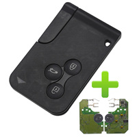 Maizhi 434Mhz ID46 Chip 3 Buttons Remote Card Key Smart Car Key FOB For Renault Megane