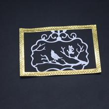 AZSG Wonderful nature Cutting Dies For DIY Scrapbooking Decorative Card making Craft Fun Decoration 7.7*6.5cm