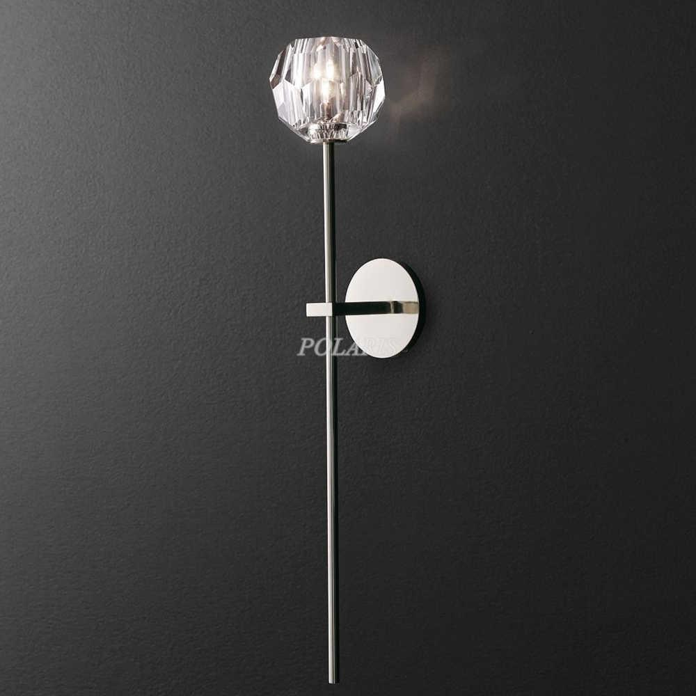 Современное ретро K9 хрустальная люстра бра роскошные Cristal Настенные светильники приспособление для дома для гостиниц и столовых Декор
