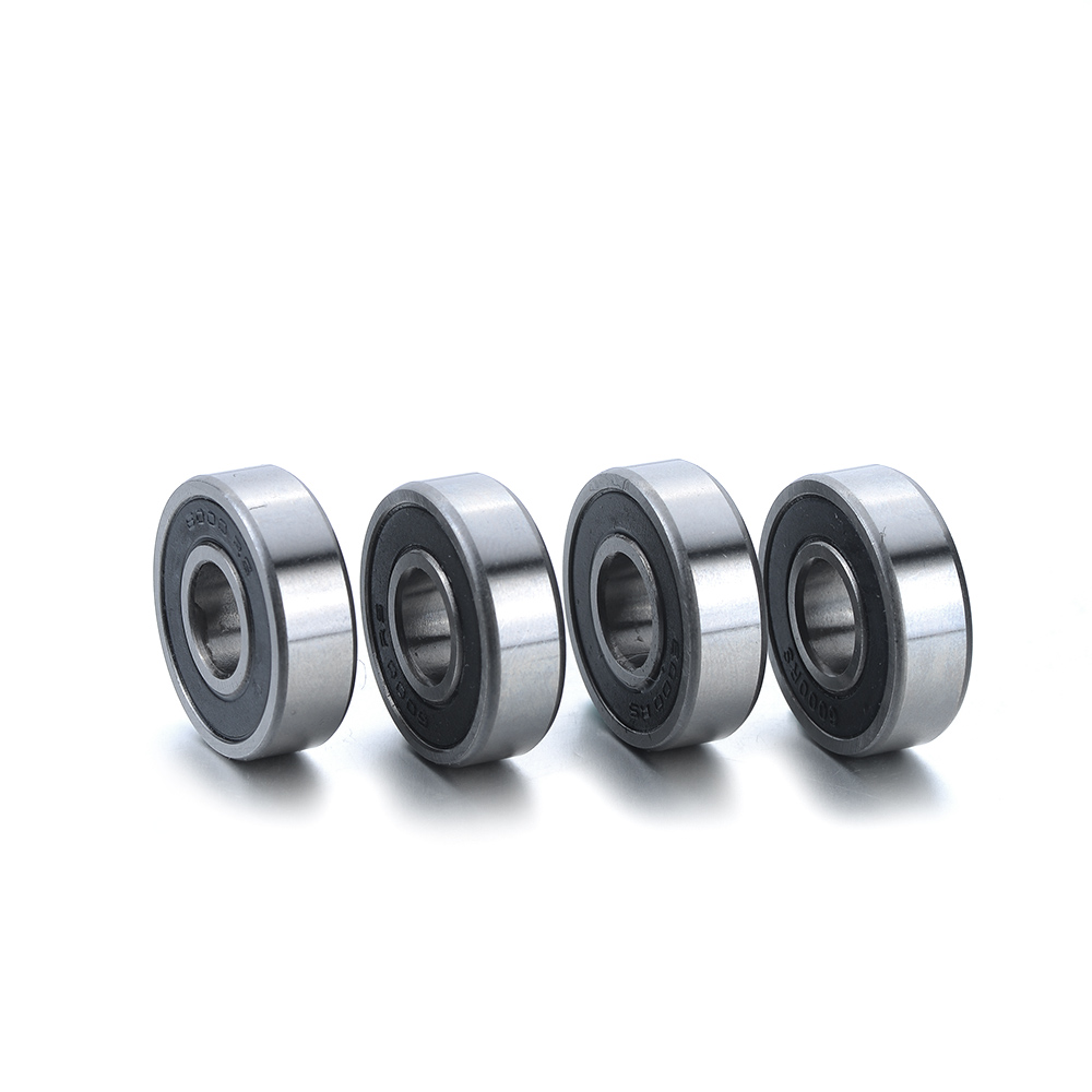 10Pcs 6000-2RS Bearings Kit Set 10x26x8mm Deep Groove Ball Bearings Grease Lubrication Bearing steel 6000-2RS Rolling Bearings