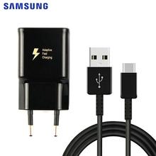 SAMSUNG Original Fast Charger 9V1.67A Adapter EU/US For Samsung GALAXY S9 Plus S8 Note8 9 C5 C7 C9 USB Type C Cable